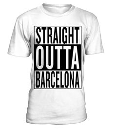 # straight outta Barcelona .  Personalised straight outta Barcelona product with this famous template. Spain City style straightoutta music movie rap hiphop graphic uncommon most popular urban cool gangster logo design town classic great hipster travel idea giftidea funny humor travelling fresh birthday backpacker backpacking hip hop hometown capital awesome out of coming from black white thug i m im coming, hiphop style, gift idea, preent, cool logo, white, custom, hip hop design, rap…