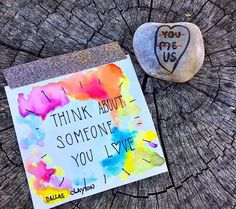 Spreading Kindness Through Word Rocks | Love is Action Movement