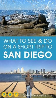 San Diego is a beautiful city in Southern California, which is often overlooked by travelers. But if you visit California I highly recommend spending at least a few days in San Diego! And these are 11 things not to miss when visiting San Diego - a practical travel guide with map. #SanDiego #California #traveltips #travelguide #citybreak
