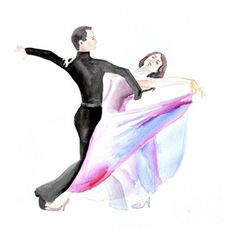 ballet dancer watercolor painting - Google Search