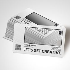 Get creative with @inkgility... Plastic #BusinessCards from @inkgility