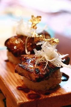 Foie Gras Sushi -- another one of my faves!!
