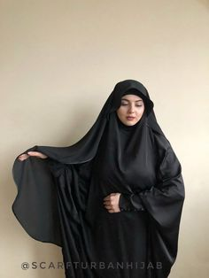 Wonderful elegant veil made by crepe chiffon and decorated of silk tape. You can buy this one veil separately or with khimar in set. Arab Girls Hijab, Girl Hijab, Muslim Girls, Beautiful Arab Women, Beautiful Hijab, Arabian Beauty Women, Muslimah Wedding Dress, Dress Muslimah, Hijab Jeans