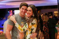 Luiz Felipe Hernandez e Karine Pantazis