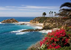 montage resort laguna beach...can someone tell me when the water around Laguna is this color?