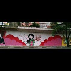 #ParedesUrbanas #ChegaDeCidadeCinza #LoveGraffiti