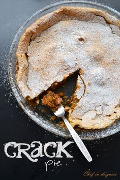 Crack pie, the very definition of irresistable