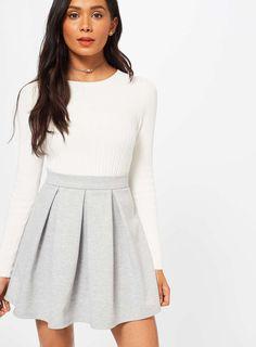 Angelic Skater Skirt : Fine Skater Skirt