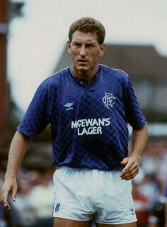 The third signing in Graeme Souness' reign Terry Butcher from Ipswich Town.