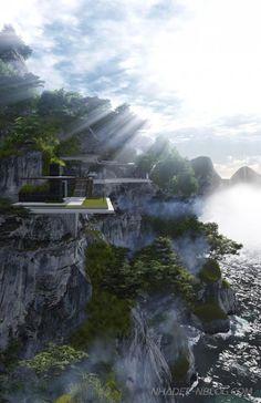 Nhà đẹp giữa thiên nhiên