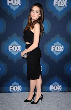 Elizabeth Gillies At The  Fox All Star Party Pasadena January