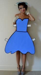 Paper doll costume love it!