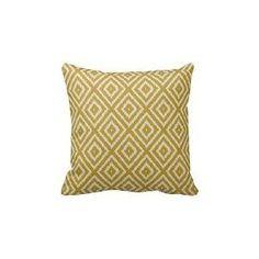 lightinglife algodón decorativo fundas de almohada Ikat Patrón de diamante…