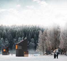 Ski Hut by Fo4a architecture 09