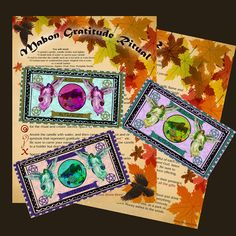 MABON GRATITUDE RITUAL Book of Shadows Pages by MorganaMagickSpell