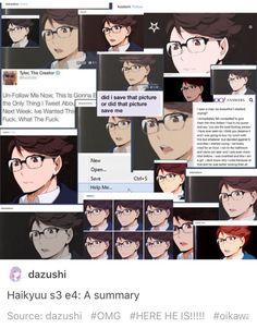 Oikawa in glasses, I can die happy || Haikyuu ♛