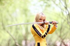 Character . Personaje: Beatrix Kiddo  Model . Modelo: Toni Darling: http://facebook.com/tonidarlingAZ http://facebook.com/thetonidarling http://youtube.com/thetonidarling http://youtube.com/ToniDarlingOfficial http://pinterest.com/thetonidarling  #Cosplay . #Cosplayers . #Superheroines