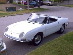 1968 Fiat 850 Spider....just like the one we had