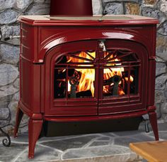 VC Encore Wood Stove #thefirebird #santafe #staywarm