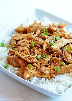 I've been using my Crock Pot like crazy lately, and I'm lovin' it! It's so nice to throw everything in it, and then get on with my day, smelling a delicious meal in the making!       I made this Honey Sesame Chicken last Sunday when I was waiting for my family to come home.... Read More »