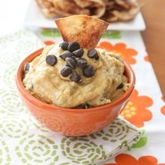 Bring sweet to savory and use chickpeas to create a creamy dessert-like hummus with peanut butter and chocolate. Recipe from Honest Cooking, found at www.edamam.com