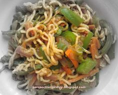 Vegetable Maggi Noodles   Crafting, Cooking n Colorful Living