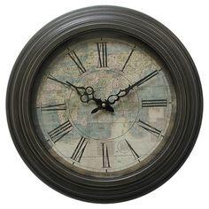 Yosemite Circular Iron Wall Clock
