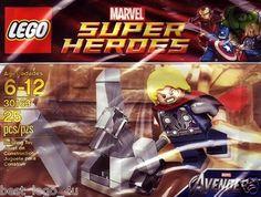 New Lego 30163 Marvel Avengers Super Heroes Thor Minifig Minifigure Polybag Set   eBay