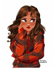 Girl Drawing Sketches, Cute Girl Drawing, Girly Drawings, Tumblr Girl Drawing, Woman Drawing, Cartoon People, Girl Cartoon, Cartoon Drawings Of People, Cartoon Faces