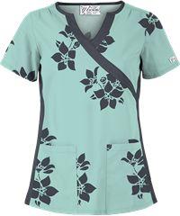 Medical assistant shirts design scrub tops 46 Ideas for 2019 Stylish Scrubs, Scrubs Outfit, Medical Scrubs, Nursing Scrubs, Scrub Tops, Blouse Vintage, Work Wear, Floral Tops, Shirt Designs
