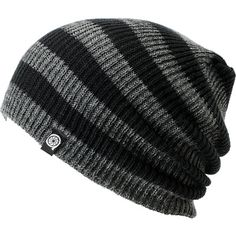 Aperture Estebon Grey & Black Stripe Beanie. So chill. I don't normally wear beanies, but this I could go for.