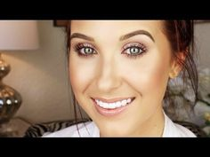 Everyday Drugstore Makeup Tutorial - YouTube....Loreal Magic Lumi Primer, Loreal True Match Lumi, Maybelline Age Rewind Concealer, Maybelline Fit Me Concealer, MAC Shaping Pro Powder, Anastasia Brow Wiz, Maybelline Chai Latte Eyeshadow Quad, Loreal Amber rush Eyeshadow, Loreal Voluminous Mascara, NYC Sunny Bronzer, Hard Candy Tiki Highlight, NYX Coral Dream Blush, Maybelline Blush Beige Lipstick, NYX Creme Brûlée