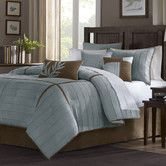 What do you think.  Me I think I like it, GIBBY approved. Found it at Wayfair - Connell 7 Piece Comforter Set