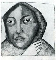 Praying Woman - Kazimir Malevich