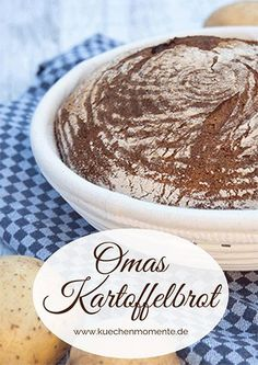 Einfaches, rustikales Kartoffelbrot, so wie es meine Oma immer gebacken hat. Einfaches, rustikales Kartoffelbrot, so wie es meine Oma immer gebacken hat. Rustic Potatoes, Greek Diet, Potato Bread, Greek Recipes, French Recipes, Food Items, Lebanese Cuisine, Nutella, Tasty