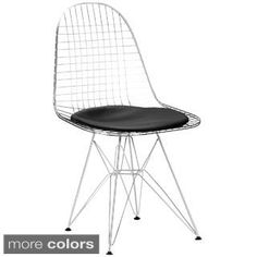 Shop for Edgemod Hamlet Wire Dining Chair in Black (Set of 2). Get free shipping at Overstock.com - Your Online Furniture Outlet Store! Get 5% in rewards with Club O! - 16672264