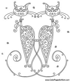 whimsical pictures to color   Whimsical Coloring Page 53