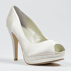 menbur 4320-julia ivory  Wedding Shoes