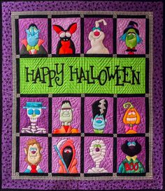 Finally finished my halloween quilt. I love it! It took a very long time but every minute of it was worth it. I previously posted the ...