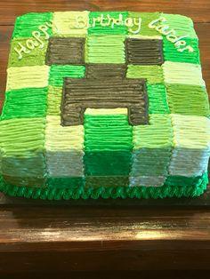 Minecraft Creeper Cake                                                                                                                                                     More
