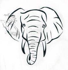 Elephant drawing                                                       …