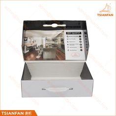 Low price cardboard stone tile sample box display case