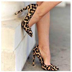 Nice leopard shoes www.ScarlettAvery.com