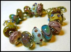 All Glass #Trollbeads bracelet!
