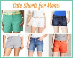 cute shorts for moms #fashionfriday --> really @Jo-Lynne Shane ? will we REALLY be able to wear shorts soon??! #pleasepleaseplease