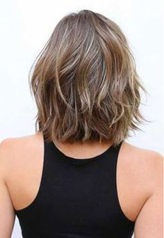 Bob hairstyles are in trends recently but long bob haircuts are extremely popular among women.That's why we have gathered these 25 Best Long Bob Haircuts for. Haircuts For Wavy Hair, Short Layered Haircuts, Hairstyles Haircuts, Fresh Haircuts, Mom Haircuts, Layered Short Hair, Short Length Haircuts, Wedding Hairstyles, Braided Hairstyles