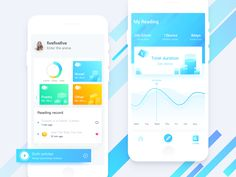 Stereoscopic data designed by allure for New Beee. Connect with them on Dribbble; Interface Design, User Interface, Reading Record, Mobile Ui Patterns, Charts And Graphs, Ui Design Inspiration, Screen Design, The Way You Are, App Design