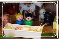 For unto you is born this day in the city of David a savior who is Christ the Lord. - Luke Merry Christmas from my family . Fisher Price Toys, Vintage Fisher Price, Childhood Toys, Childhood Memories, Merry Little Christmas, Xmas, Christmas Time, Preschool Christmas, Christmas Crafts
