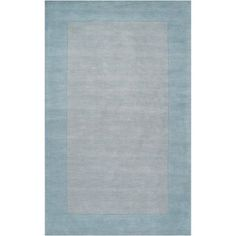 Art of Knot Elkmont Wool Area Rug, Silver