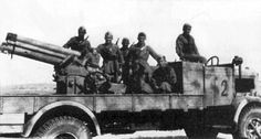 Autocannone Lancia 3RO da 100/17: 1941. Vehicle Type, Heavy Truck Mounted Self-Propelled Howitzer. Origin & Designer, Italy/Lancia-Skoda.